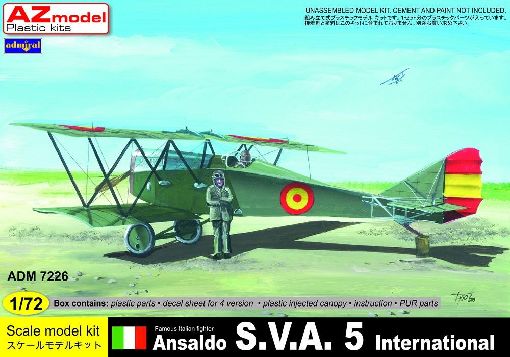 ADMIRAL - AZ MODEL 7226 Ansaldo S.V.A.5 (International Users)