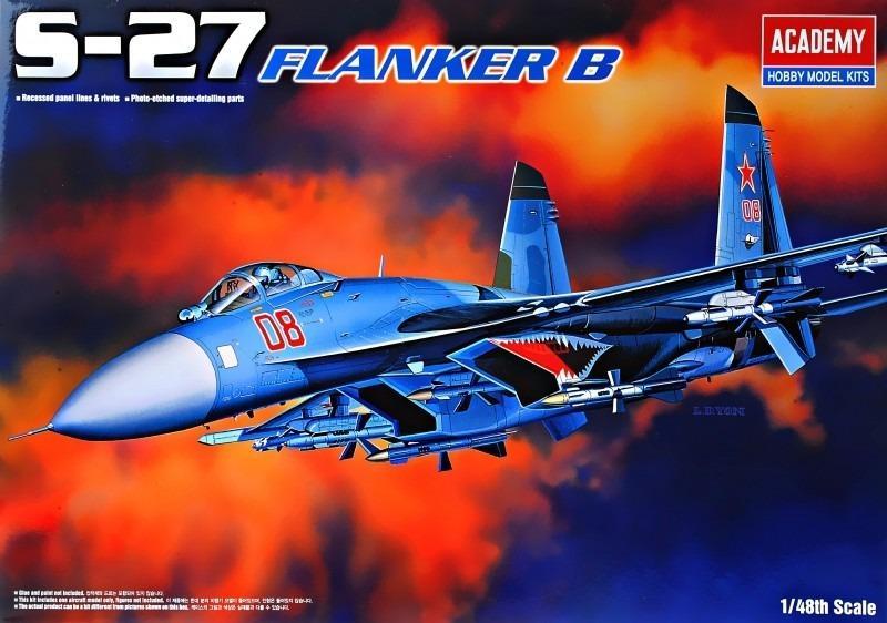 ACADEMY 12270 Sukhoi Su-27 'Flanker-B'