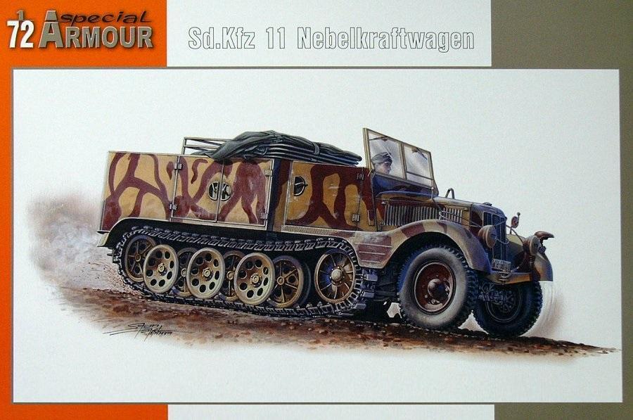 SPECIAL ARMOUR 72004 German Sd.Kfz.11/4 Nebelkraftwagen