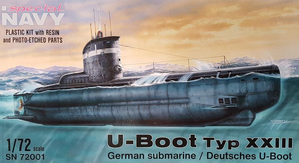 SPECIAL NAVY SN72001 German U-Boat Type XXIII (WWII)