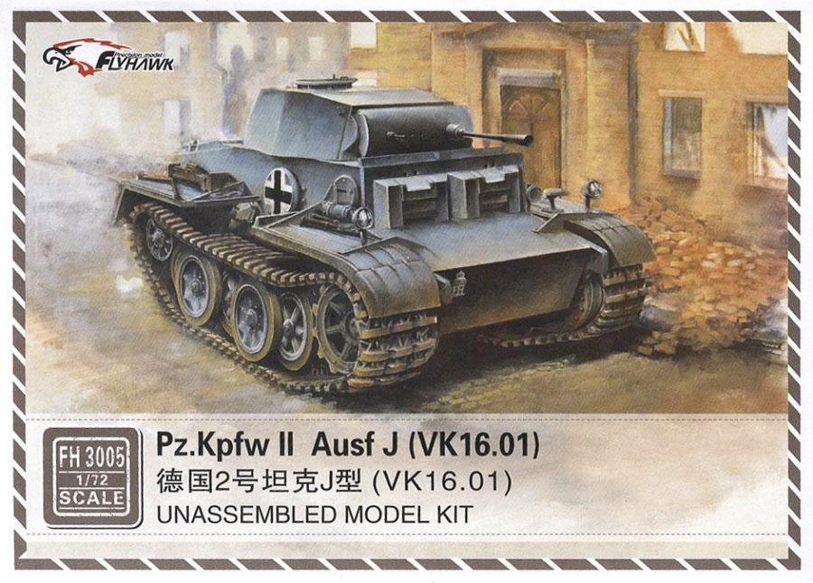 FLYHAWK FH3005 German Pz.Kpfw.II Ausf.J (VK 16.01)