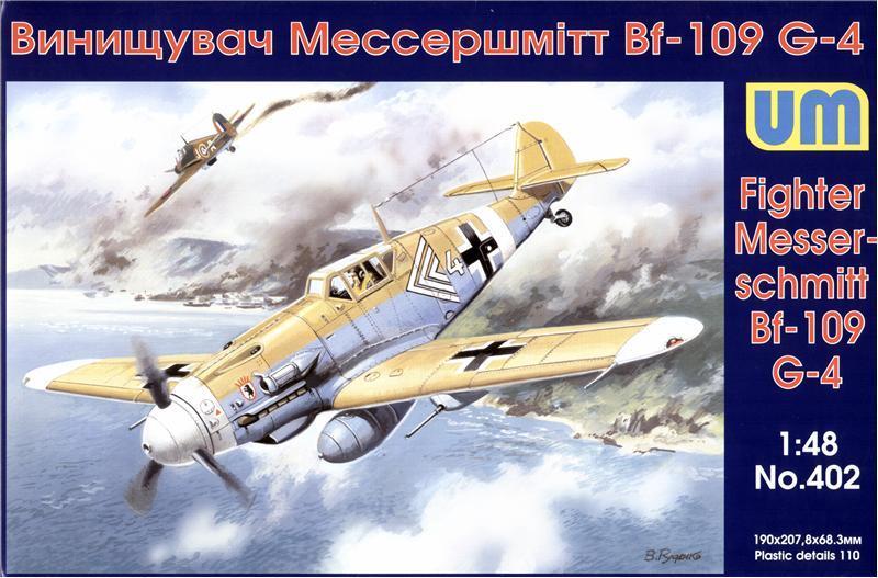 UNIMODEL 402 Messerschmitt Bf 109G-4