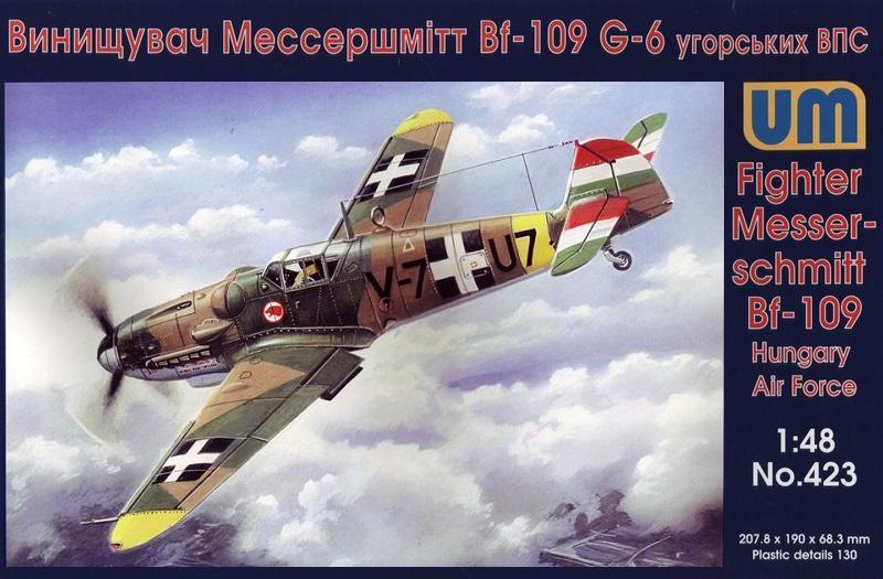 UNIMODEL 423 Messerschmitt Bf 109G-6 (Hungary Air Force)