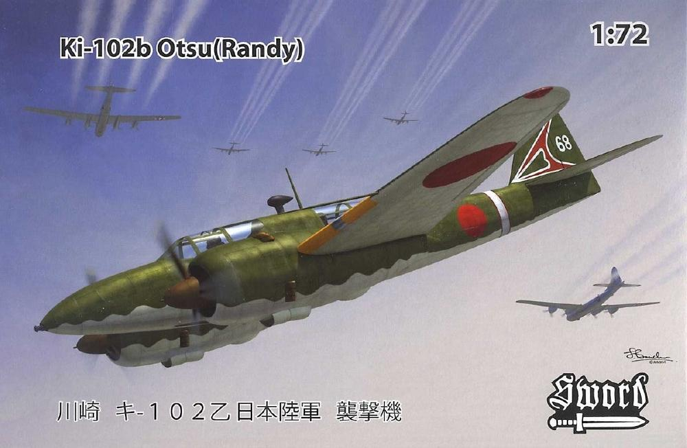 SWORD 72102 Kawasaki Ki-102b Otsu (Randy)