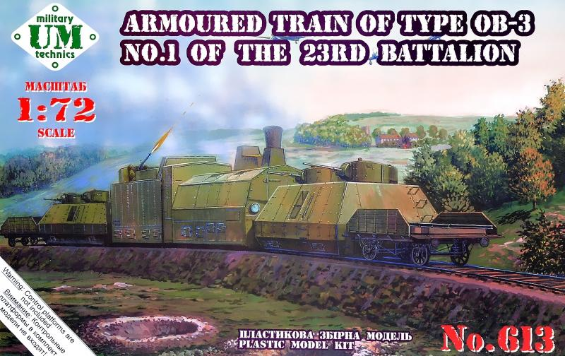 UM-MT 613 Soviet Armoured Train Type OB-3 No.1