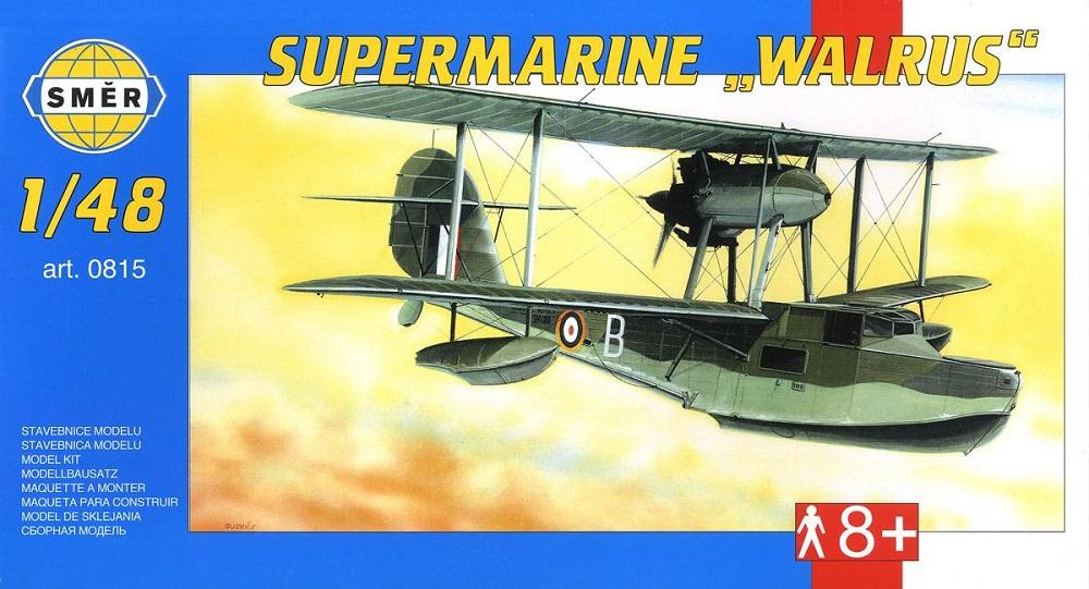 SMER 0815 Supermarine Walrus Mk.II (Flying Boat)