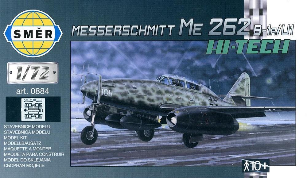 SMER 0884 Messerschmitt Me 262B-1A/U-1