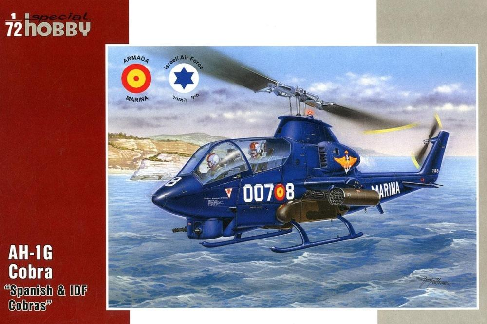 SPECIAL HOBBY 72274 Bell AH-1G Cobra 'Spain & Israel'