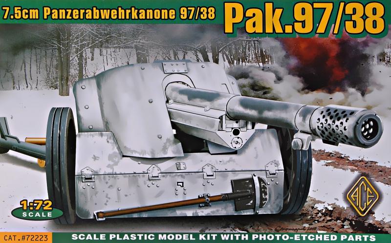 ACE 72223 Panzerabwehrkanone Pak 97/38 (7,5 cm)