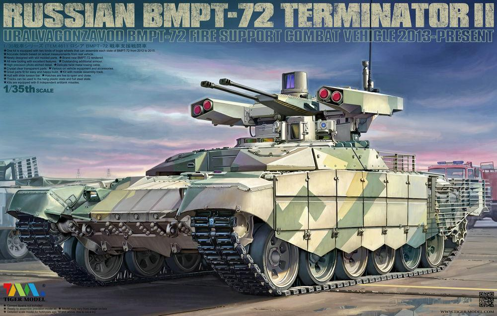 TIGER MODEL 4611 Russian BMPT-72 'Terminator II'