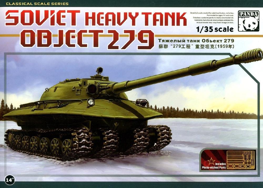 PANDA HOBBY 35005 Soviet Heavy Tank Object 279