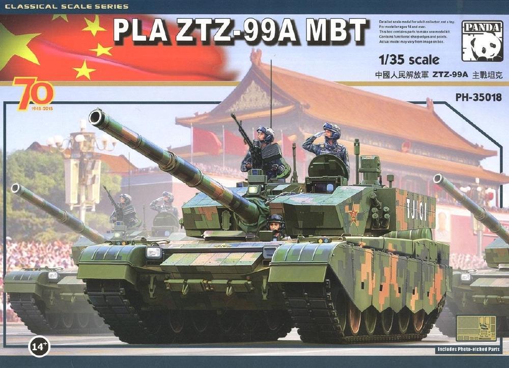 PANDA HOBBY 35018 Chinese Main Battle Tank ZTZ-99A