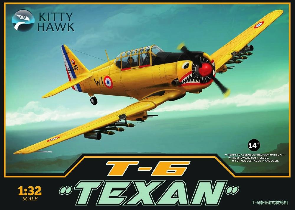 KITTYHAWK MODELS 32002 North-American T-6 'Texan' (Spanish Version)