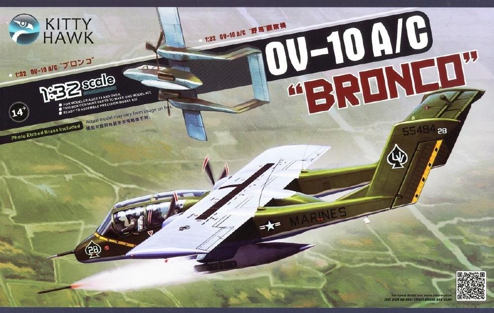 KITTYHAWK MODELS 32004 North-American/Rockwell OV-10A/C 'Bronco'