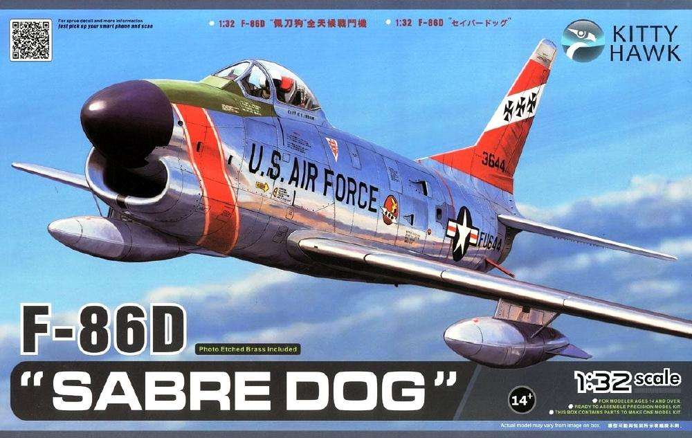 KITTYHAWK MODELS 32007 North-American F-86D 'Sabre Dog'