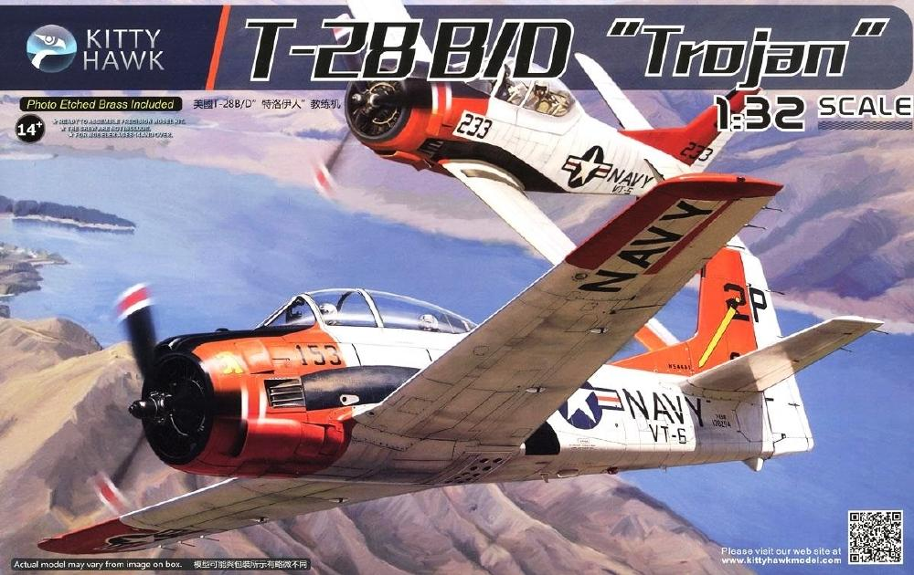 KITTYHAWK MODELS 32014 North-American T-28B 'Trojan'