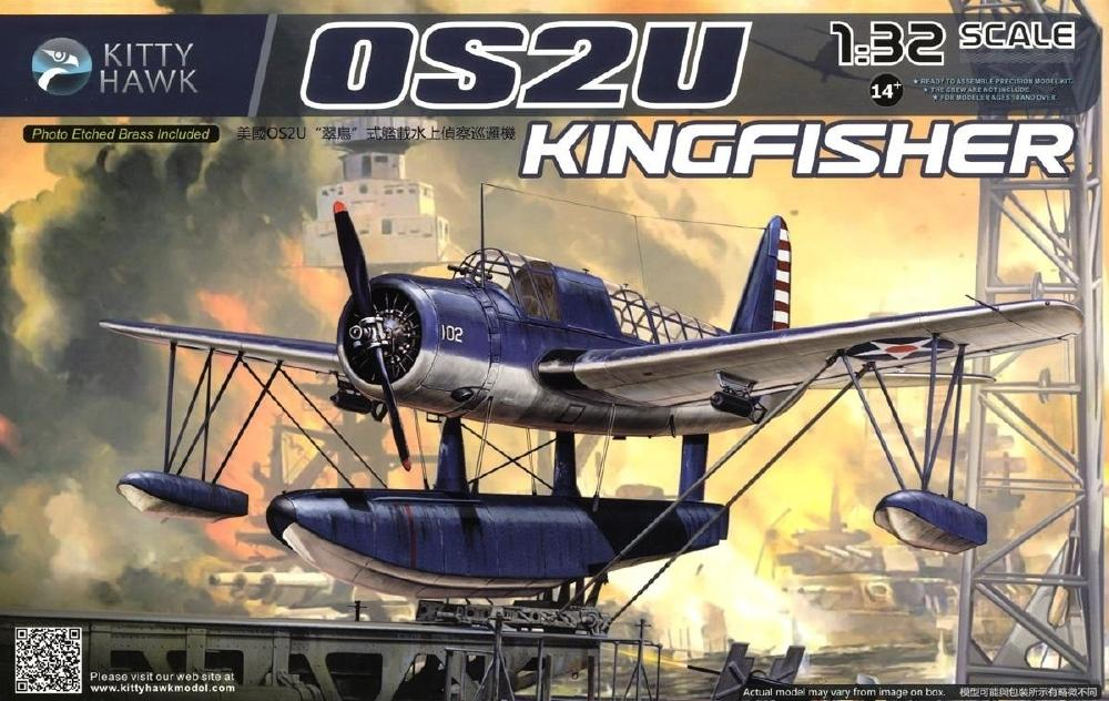 KITTYHAWK MODELS 32016 Vought OS2U 'Kingfisher'