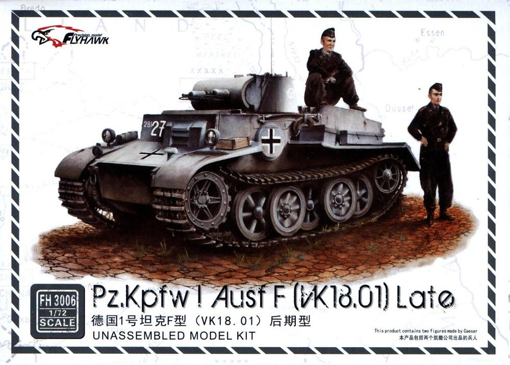 FLYHAWK FH3006 German Pz.Kpfw.I Ausf.F (VK 18.01) 'Late'