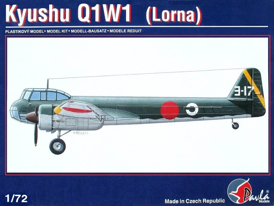 PAVLA MODELS 72003 Kyushu Q1W1 'Lorna'