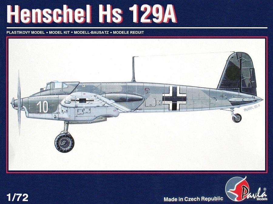 PAVLA MODELS 72004 Henschel Hs 129A