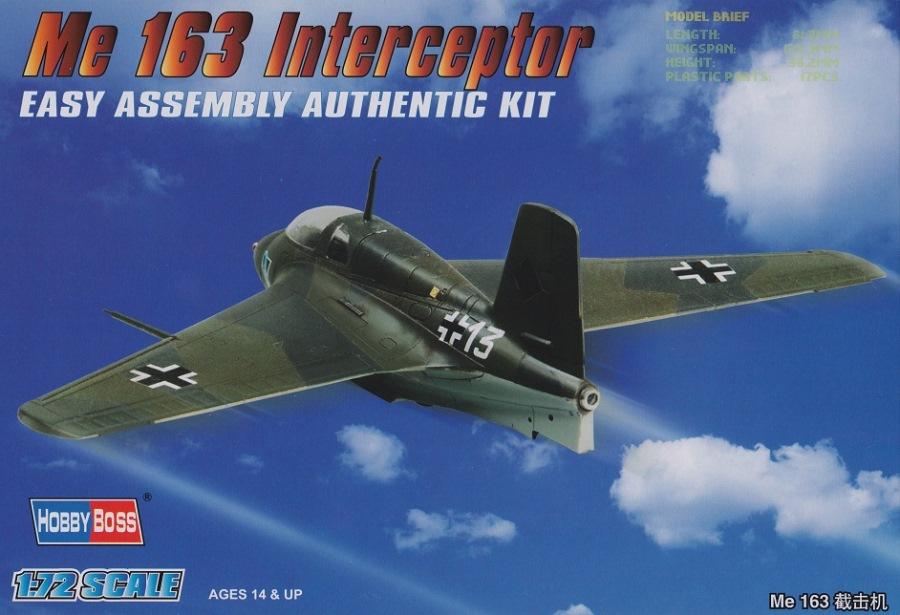 HOBBYBOSS 80238 Messerschmitt Me 163 Interceptor (WWII)