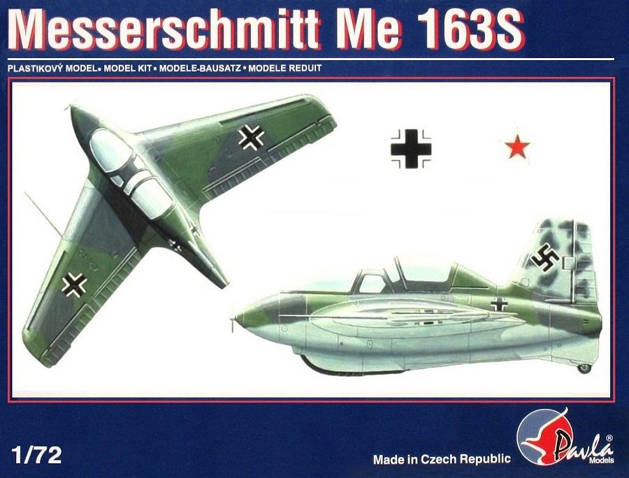PAVLA MODELS 72020 Messerschmitt Me 163S
