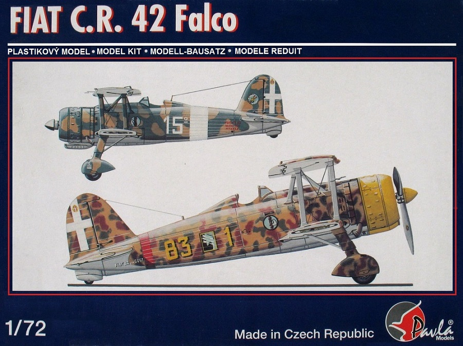 PAVLA MODELS 72049 Fiat C.R.42 'Falco'