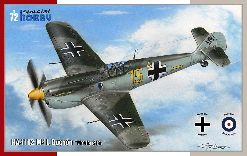 SPECIAL HOBBY 72311 Hispano HA-1112M-1L Buchon 'Movie Star'