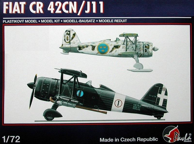PAVLA MODELS 72058 Fiat C.R.42CN/JII (with Wheels and Skis)