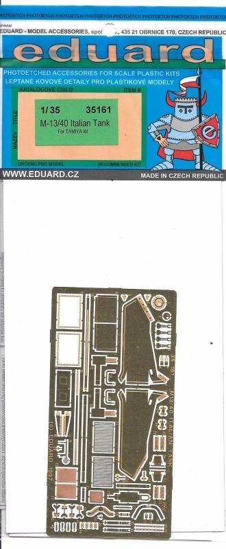 EDUARD 35161 Set for M-13/40 (Tamiya)