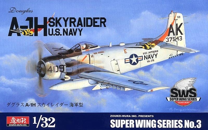ZOUKEI-MURA SWS3203 Douglas A-1H Skyraider (U.S. Navy)