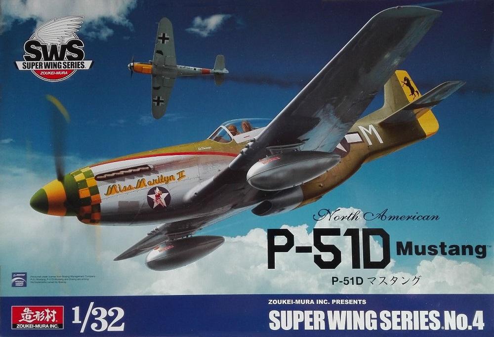ZOUKEI-MURA SWS3204 North-American P-51D 'Mustang'