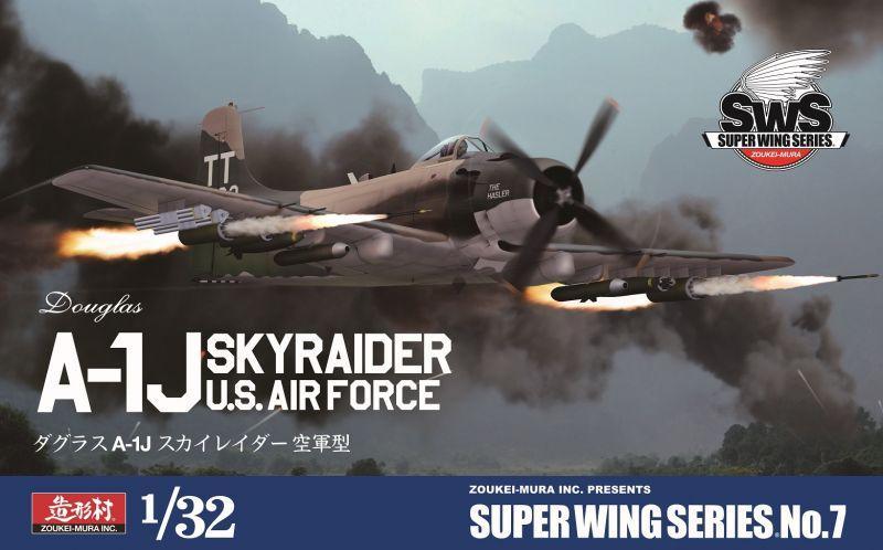 ZOUKEI-MURA SWS3207 Douglas A-1J Skyraider (U.S. Air Force)