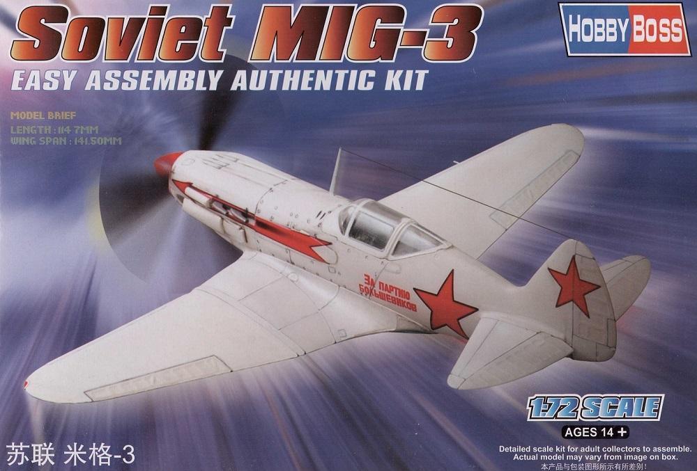HOBBYBOSS 80229 Soviet MiG-3 (WWII)
