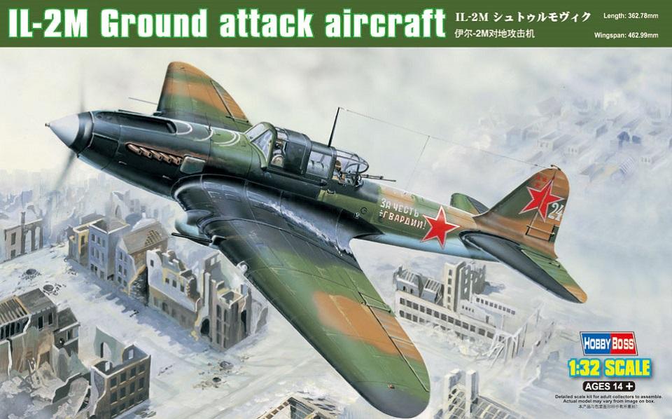 HOBBYBOSS 83203 Ilyushin Il-2m 'Sturmovik' Ground Attack Aircraft