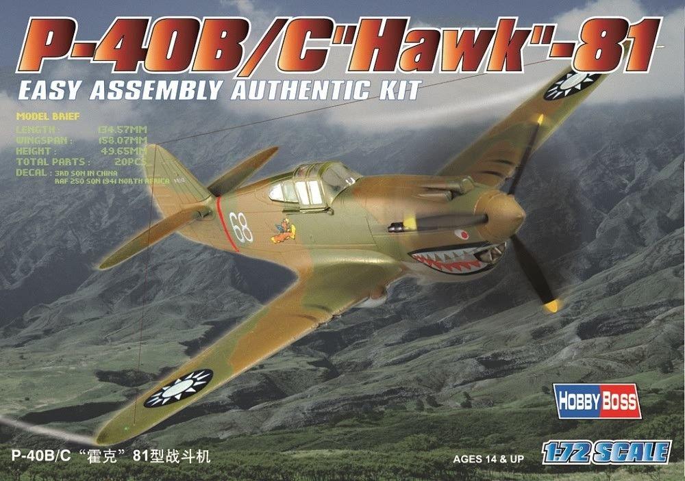 HOBBYBOSS 80209 Curtiss P-40B/C Hawk-81