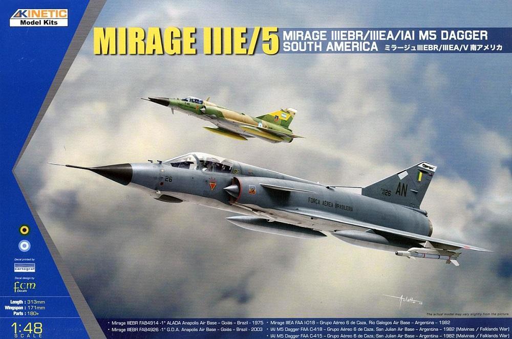 KINETIC 48052 Dassault Mirage IIIE/V 'Dagger'