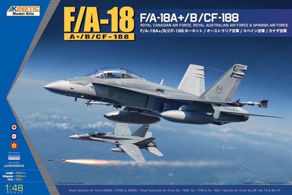 KINETIC 48030 Mc Donnell-Douglas F/A-18A+/B 'Hornet'