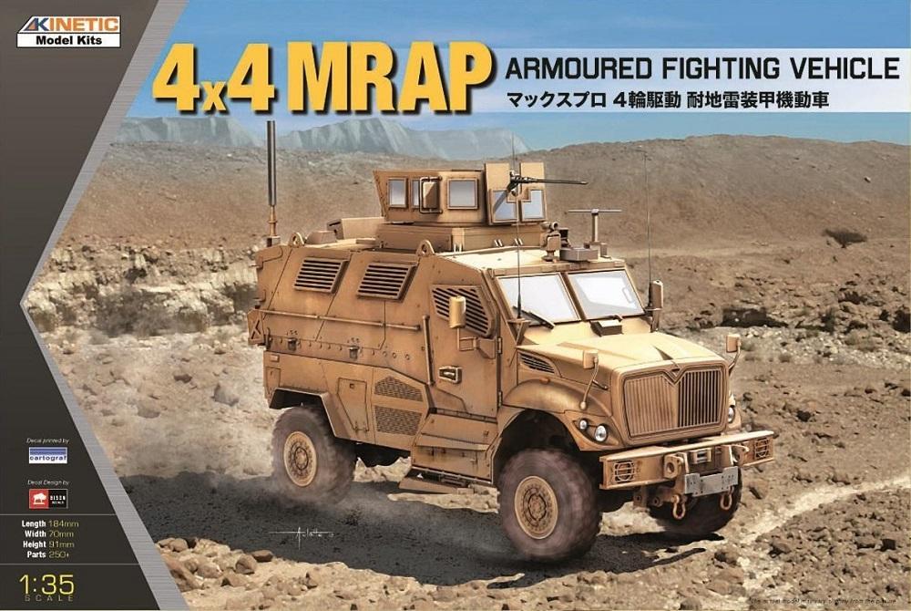 KINETIC 61011 MRAP 4x4 Armoured Fighting Vehicle