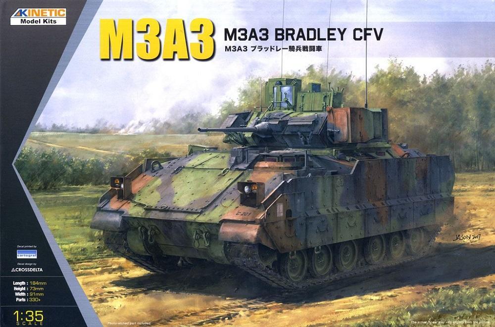 KINETIC 61014 Combat Fighting Vehicle M3A3 'Bradley'