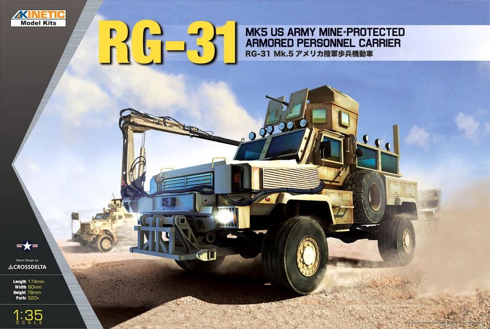 KINETIC 61015 Mine-Protected Armored Personnel Carrier RG-31 Mk.5