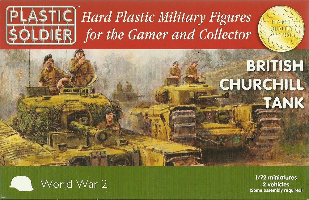 PLASTIC SOLDIER WW2V20017 British Churchill Tank