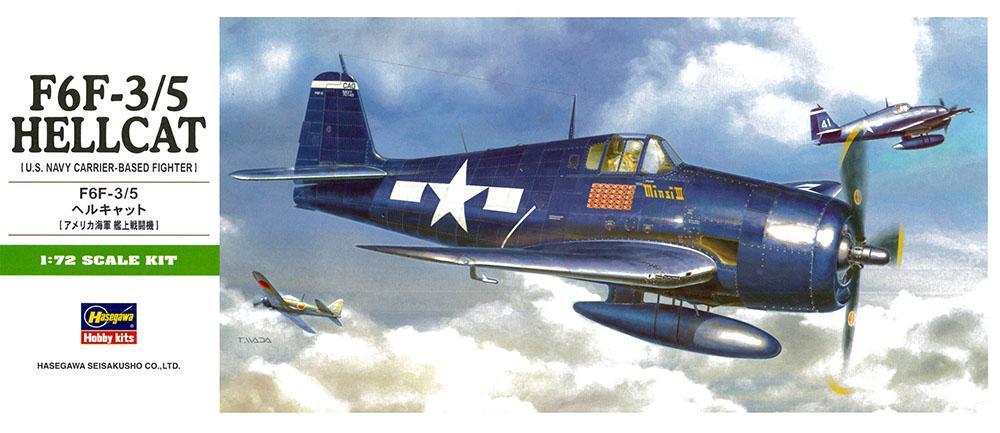 HASEGAWA B11 Grumman F6F-3/5 'Hellcat'
