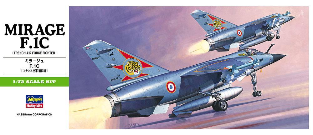 HASEGAWA B04 Dassault F.1C 'Mirage'