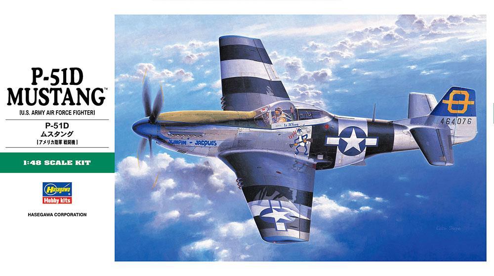 HASEGAWA JT30 North-American P-51D 'Mustang'