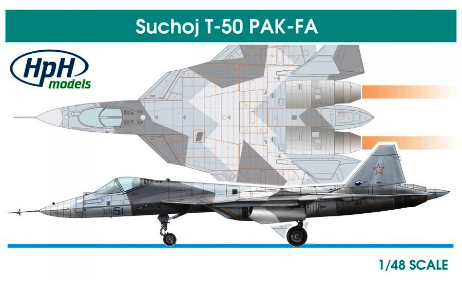 HPH MODELS 48009L Sukhoi T-50 PAK-FA