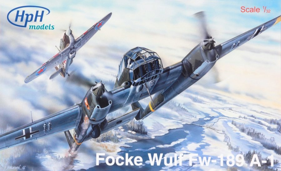 HPH MODELS 32030R Focke-Wulf Fw 189A-1