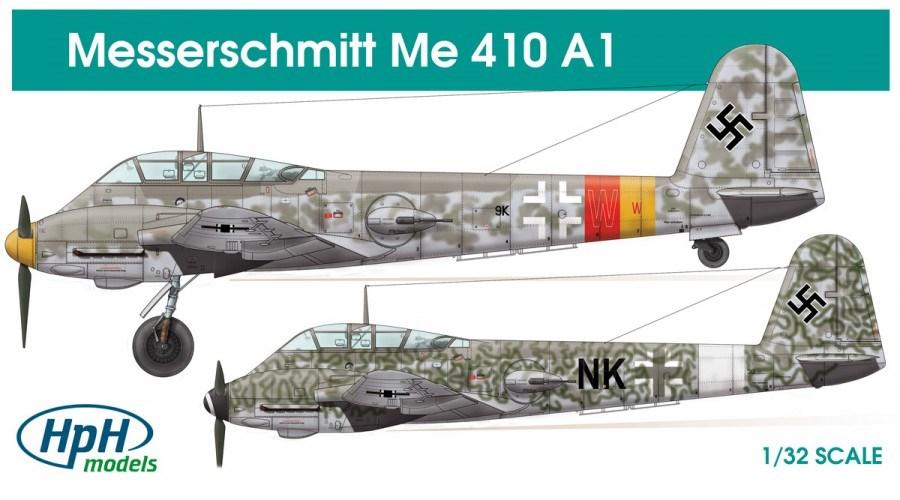 HPH MODELS 32023R Messerschmitt Me 410A-1