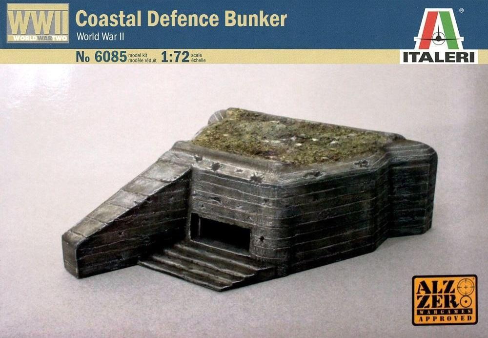 ITALERI 6085 Coastal Defence Bunker