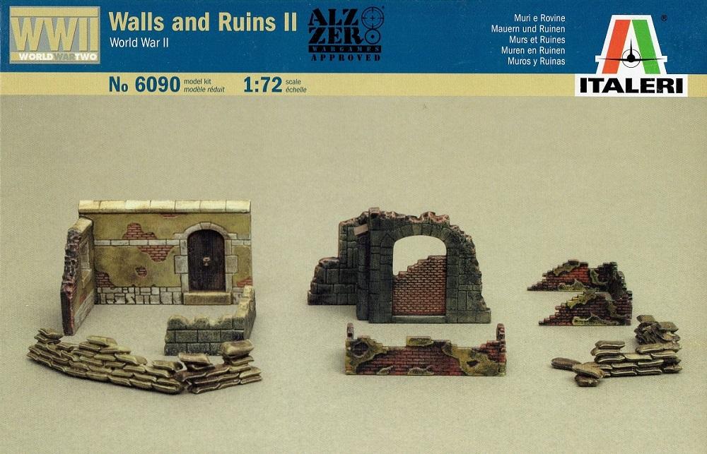 ITALERI 6090 Walls and Ruins II